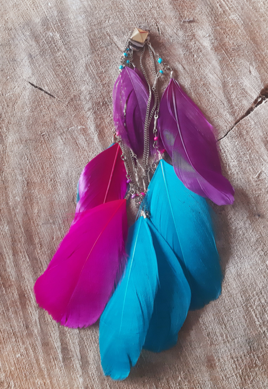 Decoratieve Fashionclip - The Colorful Indian