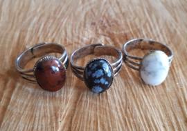 Vijf soorten natuursteen