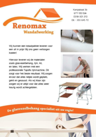 100m2 Super Renovlies behang Glad 150 grams + 2 emmers renovlies lijm