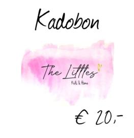 Kadobon € 20,-