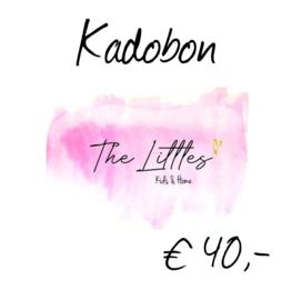 Kadobon € 40,-