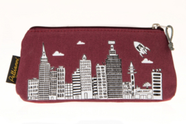 Eco-friendly/vegan etui (rood)