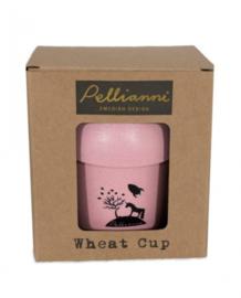 Pellianni Eco-friendly drinkbeker (roze)