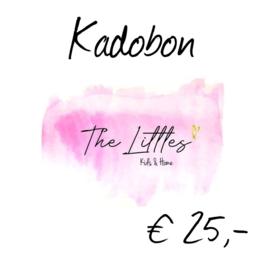 Kadobon € 25,-