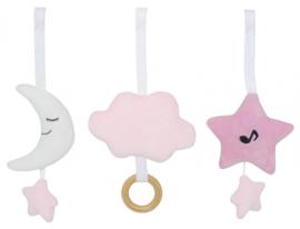 Babygym speelgoed roze Jabadabado