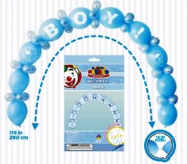 Ballon slinger Boy/ jongens blauw