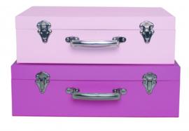 Kofferset Roze