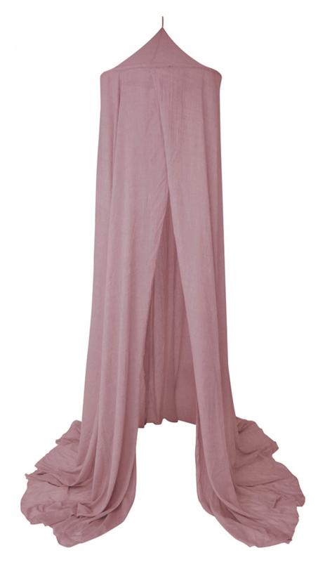 Bedhemel donker roze