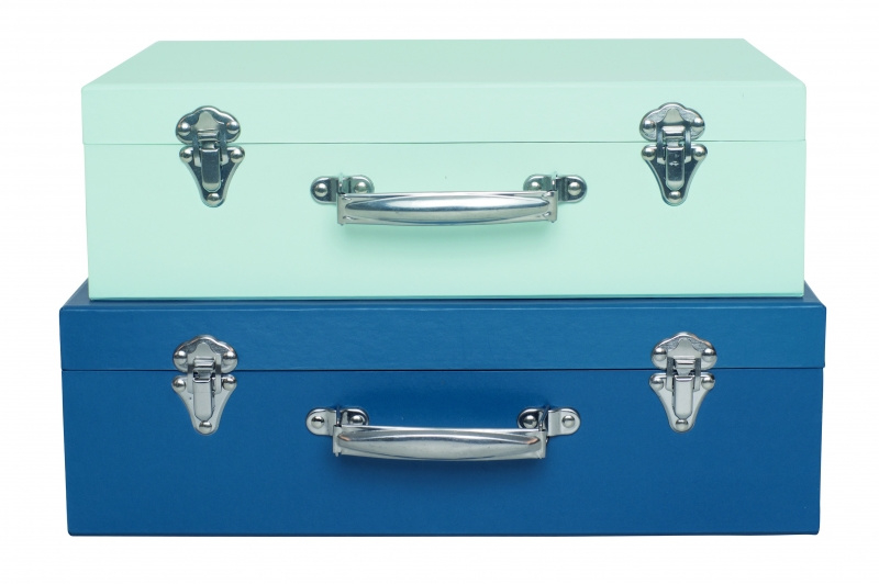 Kofferset blauw