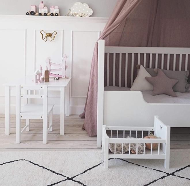 roze slaapkamer the littles