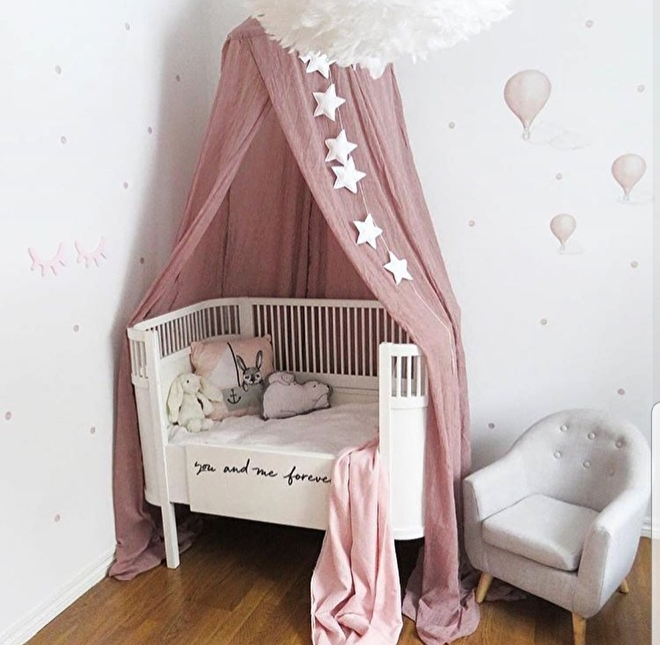 bedhemel roze the littles