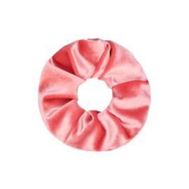 Scrunchie velvet 'roze'.
