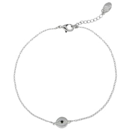 Armband 'I see you' zilver