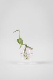 Flower Bubble standing vase pink