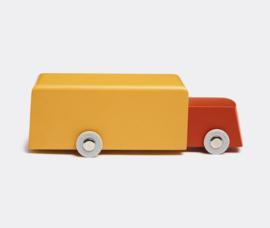 Houten vrachtauto uit de serie duotone