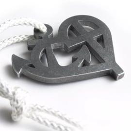 Sleutelhanger 'Faith, Hope and Love'