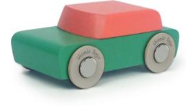 Houten auto uit de serie duotone - Floris Hovers