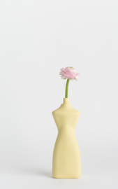 # 8 porcelain vase, fresh yellow