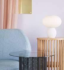 Opal glass lamp