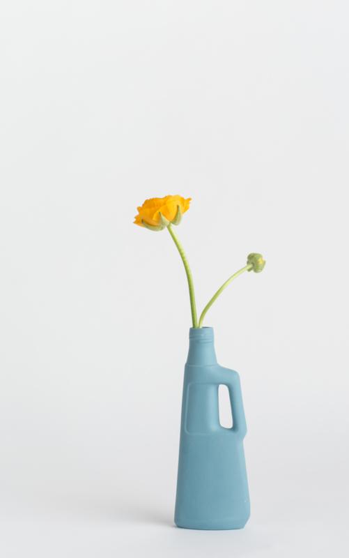 #9 Porcelain vase, dark blue