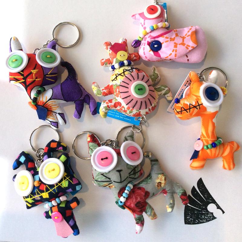 Sleutelhanger 'monsters'