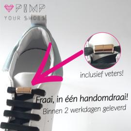 Vetercapsule - Goud +één paar elastische veters