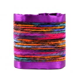 Kelim Ties - Purple Dreams  (prijs per paar)