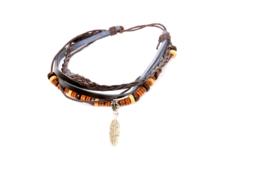 Ketting - The Wooden Beads (prijs per stuk)