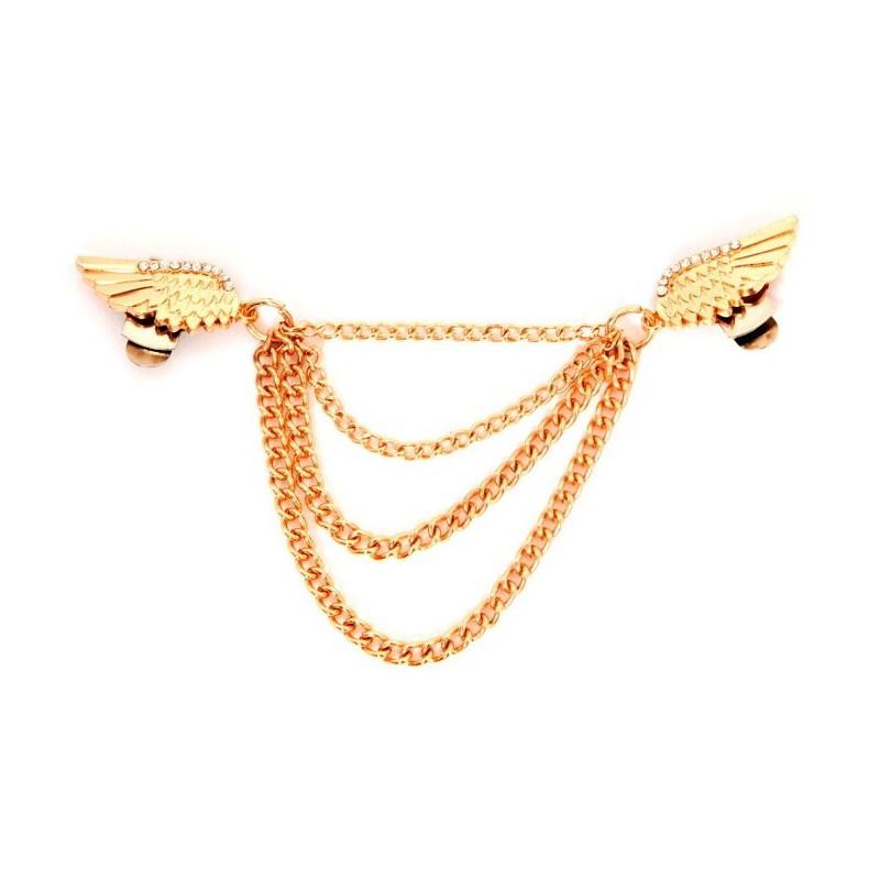 Clips - Diamond Wings Roze