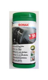 SONAX Kunststof Onderhoudsdoekjes 25 stuks