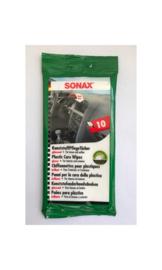 SONAX Interieur Reinigingsdoekjes 10 stuks