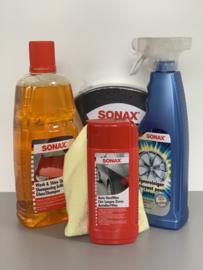 Sonax cadeaupakket verpakt in emmer