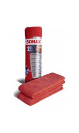 SONAX Microvezeldoek Exterieur, per 2 stuks