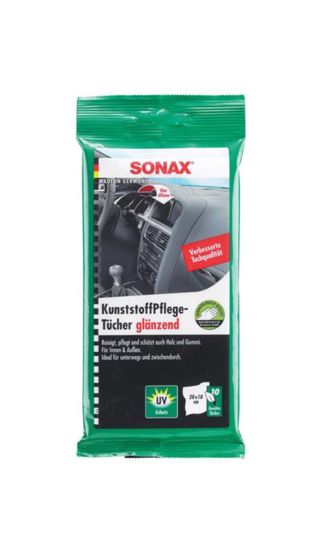 SONAX Kunststof Onderhoudsdoekjes 10 stuks