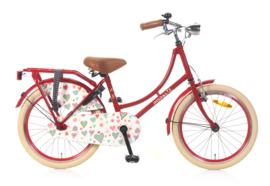 omafiets 20 inch rood