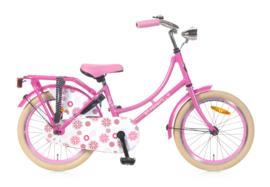 omafiets 18 inch roze