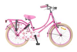 omafiets 20 inch roze