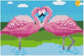 Flamingo's - Dienblad klein