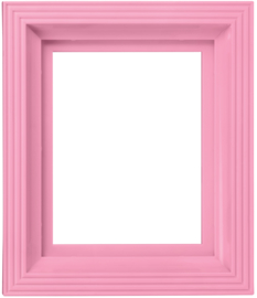 Kunststof lijst roze