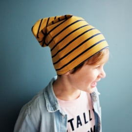Beanie Yellow Stripes
