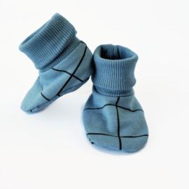 Babyslofjes sokjes Blue grill