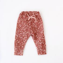 Legging broekje Vintage Pink Flowers