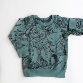 Sweater Wild Animals
