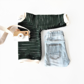 Sweater Stripes Dark Green