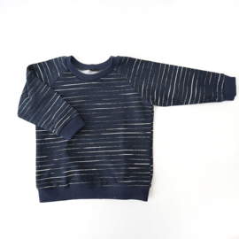 Sweater Stripes Dark Blue