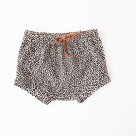 Bummie Short Leopard Sand