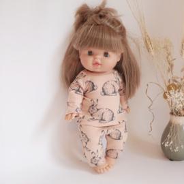 Pyjama konijntjes  34 cm