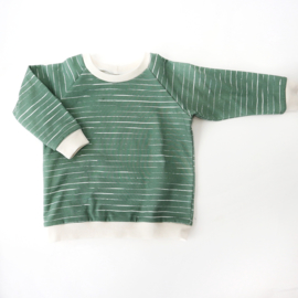 Sweater Stripes Old Green