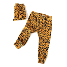 Legging Leopard Yellow