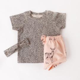 T-Shirt Leopard Sand